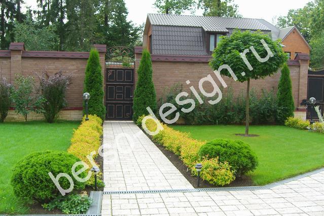 Дизайн входной частного дома